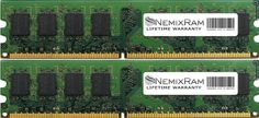 4GB (2X2GB) DDR3 NEMIX RAM Memory 1333MHz PC3-10600 Desktop DIMM 240 PIN DDR3 1333MHz PC3-10600 DIMM. BRAND NEW! **LIFETIME WARRANTY** **SAME DAY SHIPPING**. Cas Latency 9 *** 1.5V *** NON-ECC *** 240 Pin. 100% Compatible with PC Computers & Apple Mac. Major Brand like Samsung Micron Hynix Kingston Elpida.  #NEMIXRAM #PC_Accessory