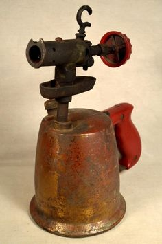 Tools, Hardware & Locks Independent Collectible Blowtorches Book Vintage Brass And Bronze Blowtorch Bernz Turner