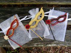 Masquerade Wedding Theme- cute idea for favor
