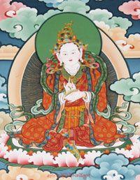 Yeshe Tsogyal, fresco