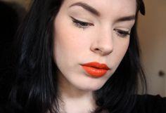 Illamasqua Lover blush. Lord & Berry Lipstick – Mandarino (Killer Colours)