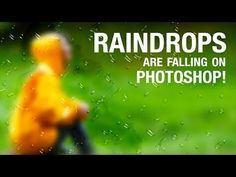 ▶ Photoshop: Create Raindrops on a Frosted Window | IceflowStudios - YouTube