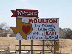 Moulton, Tx. I haven't been here since 2004. Been way too long. Can't wait to go back next time I go to San Antonio (hopefully this December!)