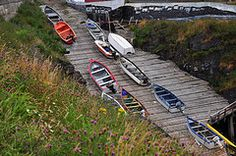 Pouch Cove Dock Newfoundland And Labrador, Beautiful Places In The World, Landscape Art, Family History, The Past, Pouch, Canada, God, Heart