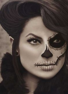 Easy and Last Minute Halloween Makeup Ideas