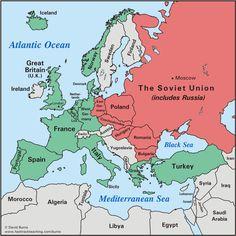 Cold War Maps