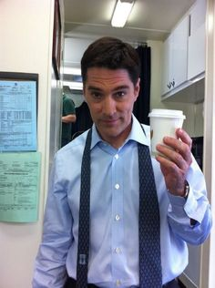 Thomas Gibson on Criminal Minds