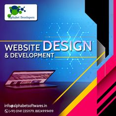 We have complete solution of web development for customer requirements as well as.Our Experiences Web Development team expertise in the web development projects and deliver them on the accurate deadline with perfect way and 100% accuracy.We work on customer need and use the technology which is suggested by the customer and give a attractive look to front by expert back end programming with good result and effects. Web Development Projects, Design Development, Alphabet, Website Design, Programming, Technology, Tech, Alpha Bet, Tecnologia