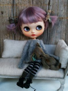 Custom Blythe Doll, Clothes by Alice's Tears, doll by UmamiBaby