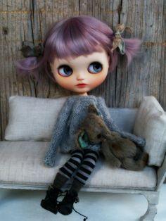 Custom Blythe Doll, Clothes by Alice's Tears, doll by UmamiBaby