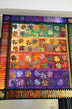 Fall Quilt by Sew'n Wild Oaks, via Flickr