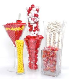 Kansas City Chiefs Candy Buffet Kit Game Logo Football