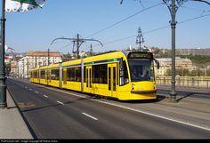 2014 Budapest Transport Limited (BKV.Zrt) Combino Supra at Budapest, Hungary by Ferenc Kolos