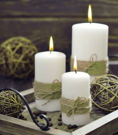 Add Earthy Elegance with Burlap and Twice
