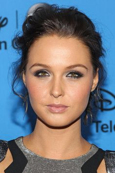 Camilla Luddington's Pinned Up Ringlets