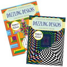 A Michaels Exclusive This Delightful Coloring Book Is Sure To Please In These Pages Youll Find Dazzling Designs That Will Make You Smile And Brighten