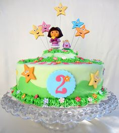 Confections, Cakes & Creations!: Dora The Explorer Birthday Cake