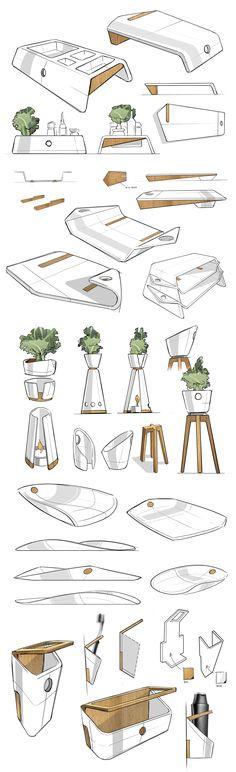 New furniture sketch design inspiration Ideas Sketch Inspiration, Design Inspiration, Design Ideas, Design Concepts, Furniture Inspiration, House Sketch Design, Design Art, Interior Design, Book Design