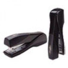 Desk Supplies>Staplers: Optima Grip Full Strip Stapler, 25-Sheet Capacity, Graphite