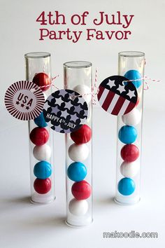 4th of July Party Favor