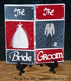 Wedding Never- Ending Card #Bride #Groom #Simplybysarah