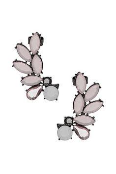 Spray Leaf Ear Cuffs