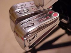 Wilson Staff Forged Irons The Daily Essential shares a picture each day from the past that inspire and represent what we like about the industry while capturing the essence of GOLF ESSENTI… Wilson Golf, Putt Putt, Irons, Golf Clubs, Kiss, Essentials, Health, Health Care, Miniature Golf