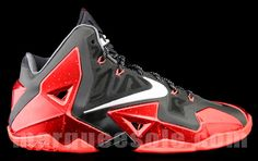 Nike LeBron XI BRED | New & Detailed Images