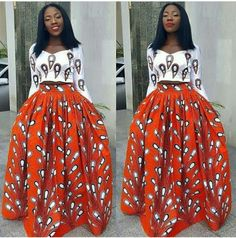 African maxi skirt / African skirt / Ankara maxi skirt / African clothing / Ankara skirt / Ankara fa Source by African Print Dresses, African Fashion Dresses, African Attire, African Wear, African Dress, African Women, African Prints, Ankara Fashion, African Style