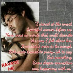 Ravage Me by Ryan Michele Smokin' Hot Book Blog's collage