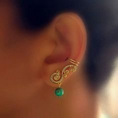 ear cuff - so unusual and cute!