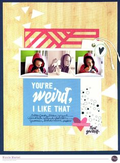 treat yourself_Clique kits_Nicole Martel_layout_Pinkfresh Studio-layout