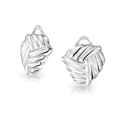 Bling Jewelry Love Knot Clip On Earrings 925 Sterling Silver Alloy Clip * CHECK OUT @ http://www.ilikeboutique.com/boutique/bling-jewelry-love-knot-clip-on-earrings-925-sterling-silver-alloy-clip/?b=9432