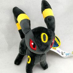 Features: Movie & TV,Stuffed & Plush Filling: PP Cotton Warning: no fire Gender: Unisex Age Range: 2-4 Years Material: Cotton Dimensions: 15cm/6inch Model Number: Espeon type: pokemon peluche Game: po