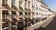 HOTEL|フランス・パリのホテル>チュイルリー庭園やヴァンドーム広場から徒歩すぐです>カスティーユ パリ(Castille Paris)