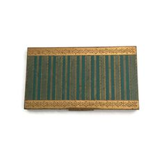 Art Deco Metal Henrietta Cigarette Case  What a great addition this would make to a collection! Wonderful art deco metal cigarette case,