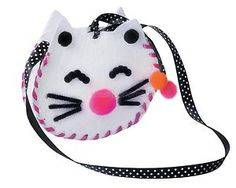 DIY Cat Shaped Change Purse Coin Handbag Crafts Kits Fabric Sewing for Kids New   eBay