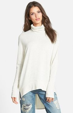 Madison+&+Berkeley+Oversize+Turtleneck+Tunic+(Nordstrom+Exclusive)+available+at+#Nordstrom