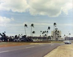 Road to Honolulu International Airport, 1964