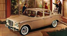 """Never having achieved the success of the American """"Big Three"""" Studebaker has always been doomed to o... - Studebaker"""