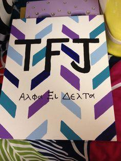 Big little week alpha xi delta TFJ