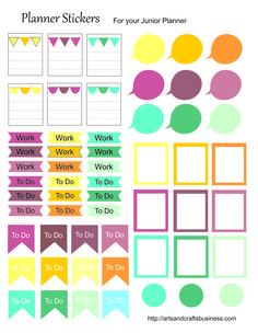 Planner & Journaling Printables ❤ Free Planner Stickers
