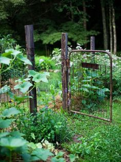 9 Well Tips: Backyard Garden Design Thoughts garden ideas kids link. Potager Garden, Garden Landscaping, Fenced Garden, Rustic Gardens, Outdoor Gardens, Indoor Outdoor, Small Gardens, Outdoor Spaces, Raised Gardens