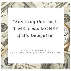 Anything that costs TIME, costs MONEY if it's Delegated Teaching, Money, Silver, Education, Onderwijs, Learning, Tutorials