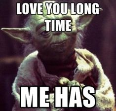 Yoda quotes on love images
