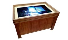 Geek Chic is now selling a multitouch gaming table.