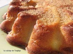 Recette Dessert : Clafoutis de poires au lait d'amande par BLOG DE TANTINE