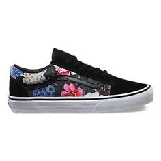 Vans Romantic Floral Rose Classic Slip On Shoes Womens Size 10