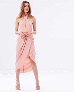 Buy Core Knot Draped Dress by Shona Joy online at THE ICONIC. Free and fast delivery to Australia and New Zealand.