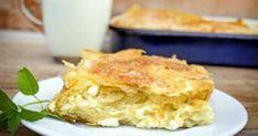 Θα σας ξετρελάνει… Πανεύκολη τυρόπιτα με 2 κινήσεις έτοιμη σε 10 λεπτά! Apple Pie, Feta, Cooking Recipes, Desserts, Tailgate Desserts, Deserts, Chef Recipes, Postres, Dessert